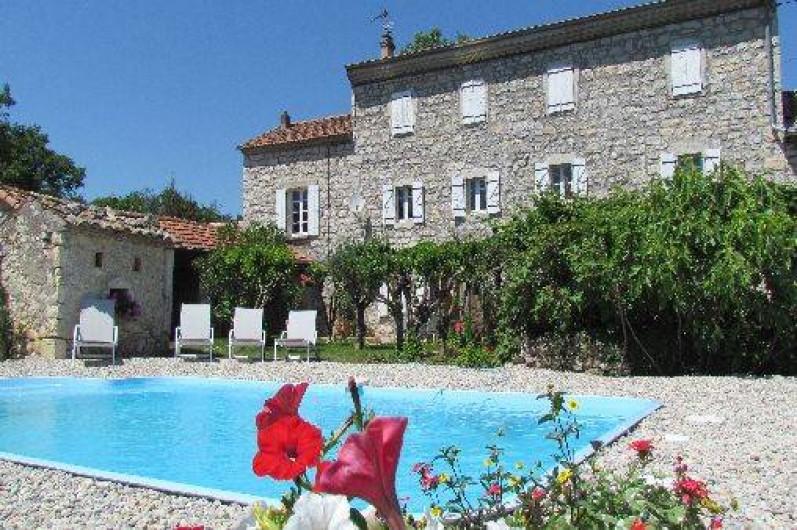 Maison De Caractère À Lussas En Sud Ardèche Avec Piscine Privée