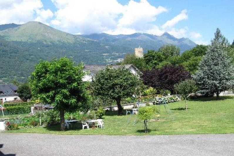 Location de vacances - Appartement à Esterre - parc