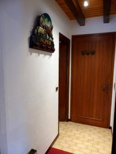 Location de vacances - Appartement à Le Grand-Bornand - Hall d'entrée