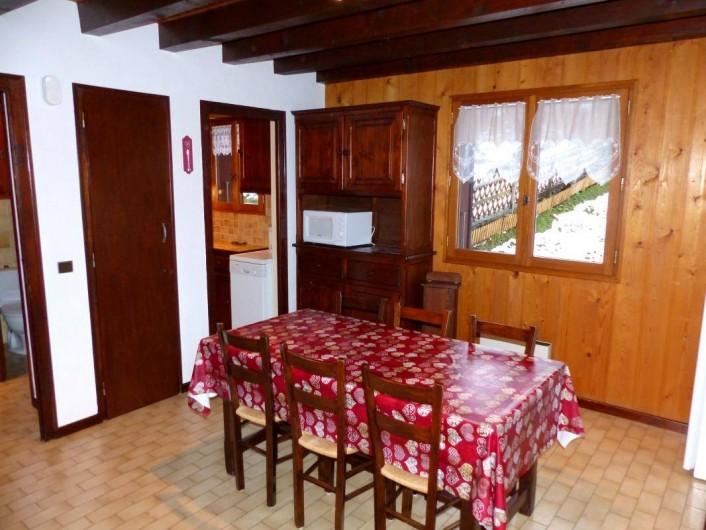 Location de vacances - Appartement à Le Grand-Bornand - Salon - séjour