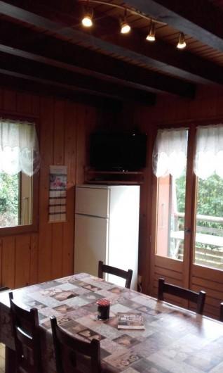 Location de vacances - Appartement à Le Grand-Bornand - salon -séjour