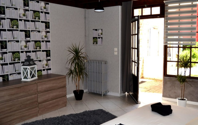 Location de vacances - Chambre d'hôtes à Vandenesse-en-Auxois - Gîte de l'écluse