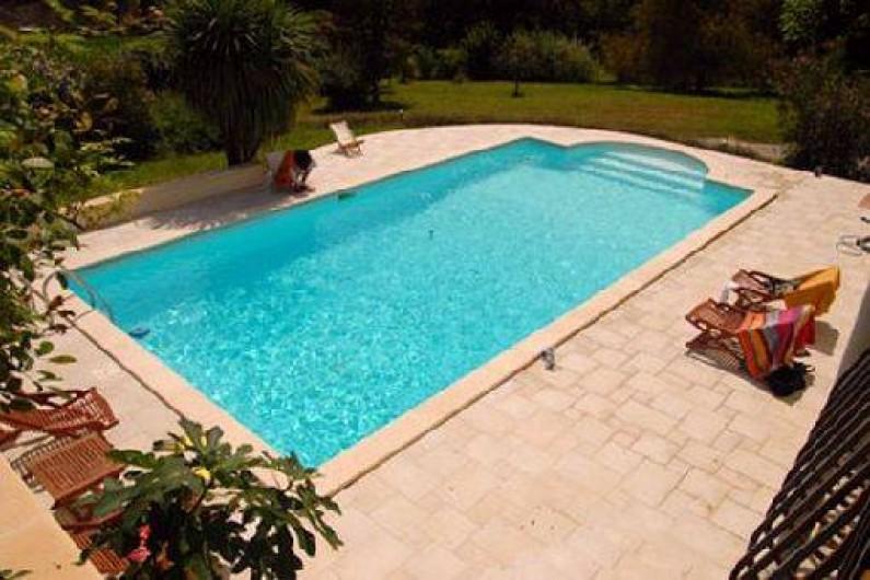 Location de vacances - Chambre d'hôtes à Habas - Piscine plein sud
