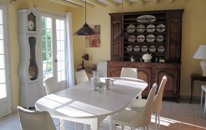 Location de vacances - Chambre d'hôtes à Habas - Salle à manger jusqu'à 14 personnes.