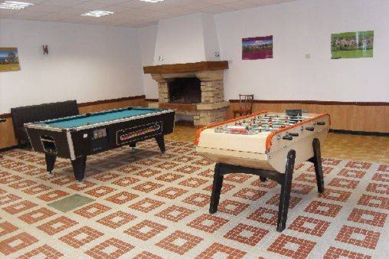 Location de vacances - Camping à Barjac - Salle de Jeux