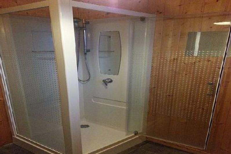 Location de vacances - Chalet à Grigneuseville - salle de douche