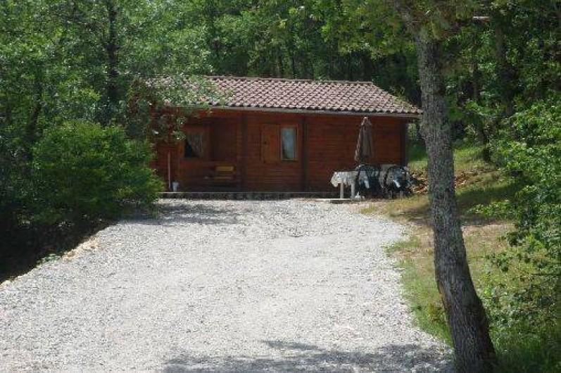 Location de vacances - Chalet à Dégagnac