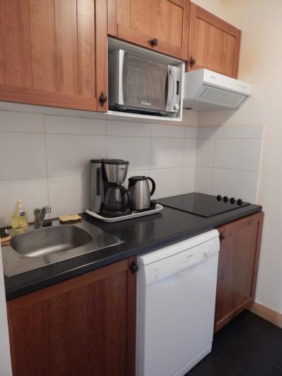 Location de vacances - Appartement à Loudenvielle - La cuisine.