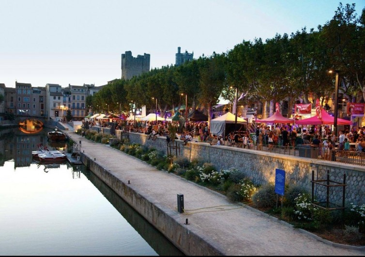 Location de vacances - Gîte à Narbonne - Narbonne Les quais