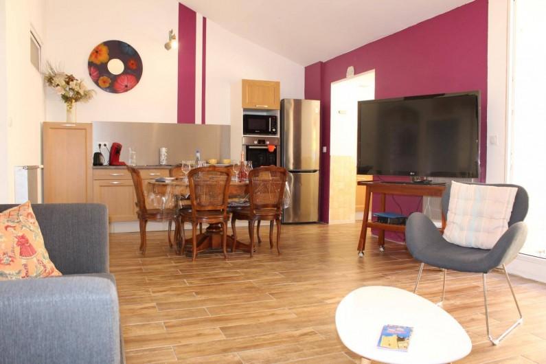 Location de vacances - Gîte à Narbonne - Salle à manger