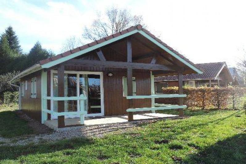 Location de vacances - Chalet à Saint-Santin-Cantalès