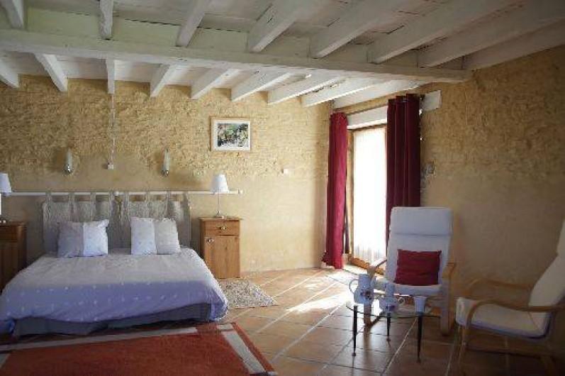 Location de vacances - Gîte à Saint-Amand-de-Coly - chambre 1 - 2 à 4 personnes