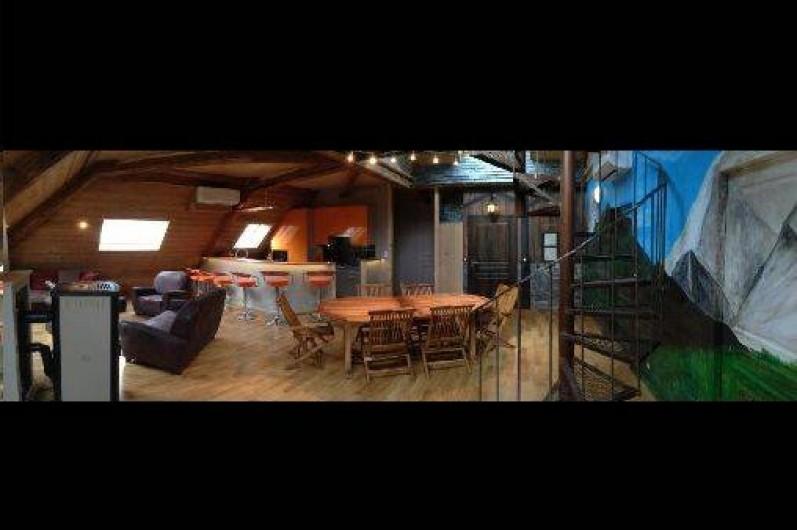 Location de vacances - Appartement à Saint-Etienne-de-Cuines
