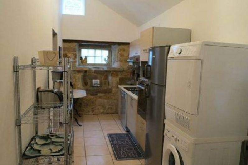 Location de vacances - Maison - Villa à Vimenet - Cuisine indépendante toute équipée: 10 m2