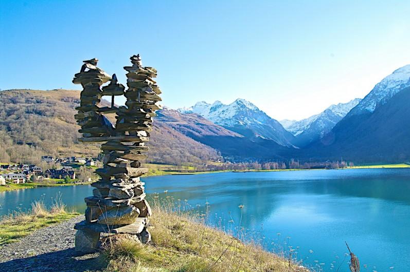 Location de vacances - Chalet à Vielle-Louron - le lac de Genos