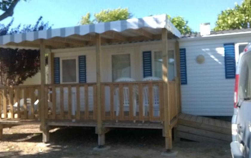 Location de vacances - Bungalow - Mobilhome à Saint-Hilaire-de-Riez - mobil homes
