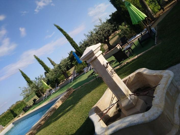 Location de vacances - Gîte à Piolenc - LES DEMEURES DE LA BEAUCLAIRE