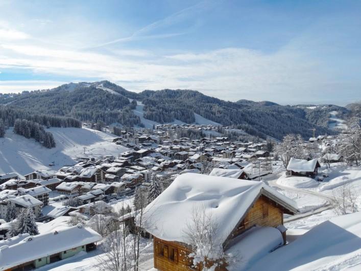 Location de vacances - Appartement à Les Gets - Village des Gets / hiver
