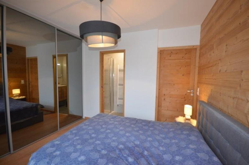Location de vacances - Appartement à Les Gets - Chambre parentale / accès salle de bain