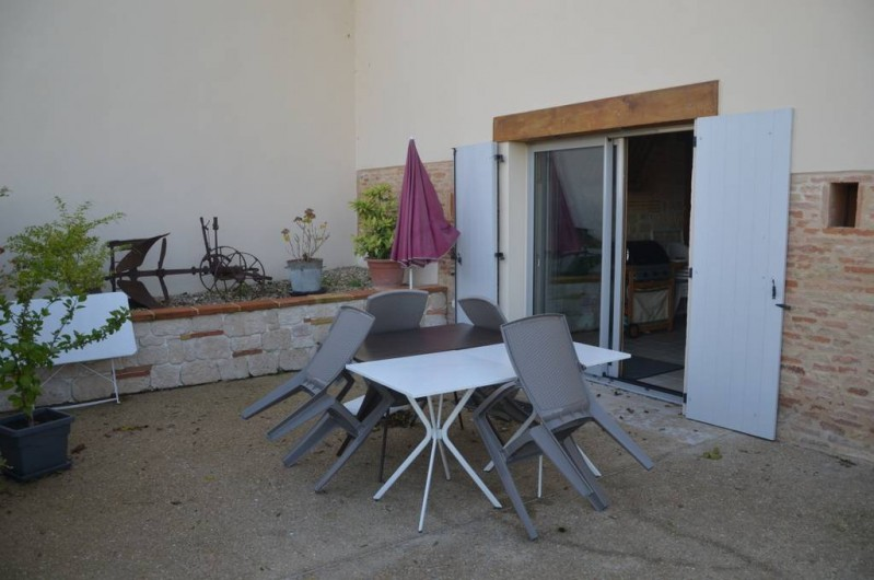 Location de vacances - Chambre d'hôtes à Auty - Terrasse
