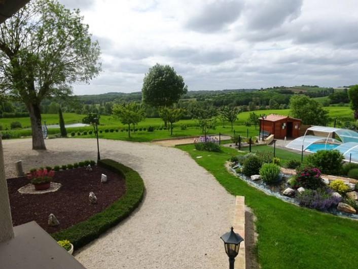 Location de vacances - Chambre d'hôtes à Auty - Arrivée au chambres d'hôtes  Fonbeilhe
