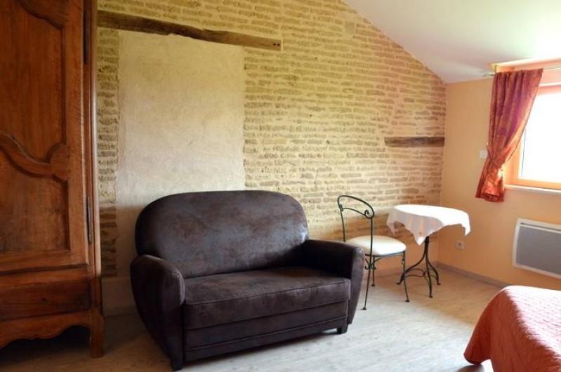 Location de vacances - Chambre d'hôtes à Auty - Salon chambre Hirondelle