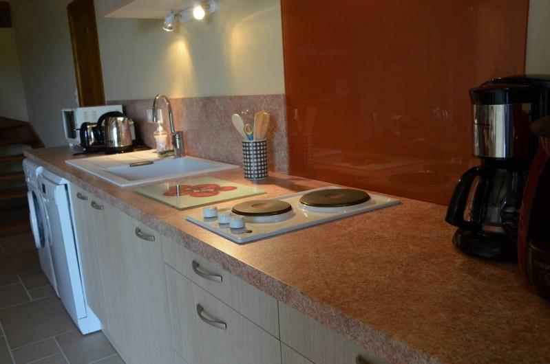 Location de vacances - Chambre d'hôtes à Auty - 2 Plaques de cuisson