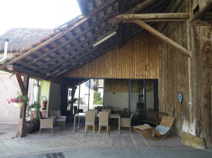 Location de vacances - Gîte à Rumersheim-le-Haut - GRANGE POUR SOIREE TARTE FLAMVEE