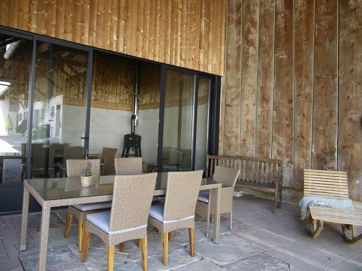 Location de vacances - Gîte à Rumersheim-le-Haut - VUE SUR LE FOUR A PAIN
