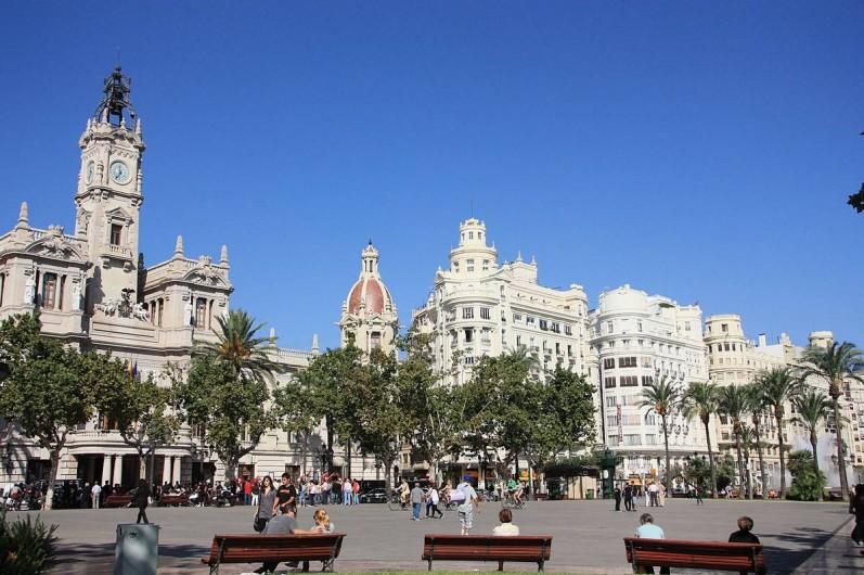 Location de vacances - Appartement à Valence - place de la mairie de valencia