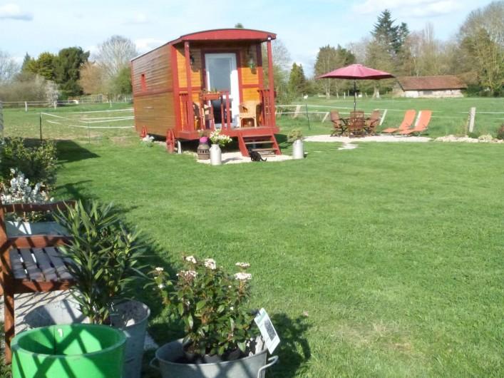 Location de vacances - Roulotte à Malleville-sur-le-Bec