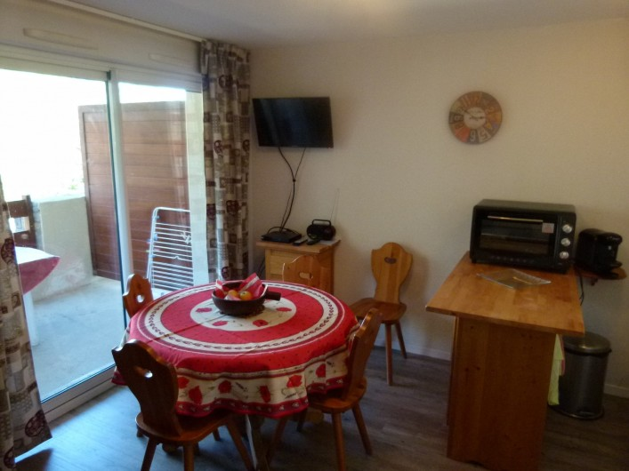 Location de vacances - Appartement à Saint-Lary-Soulan - Salle à manger