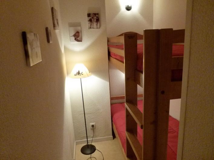 Location de vacances - Appartement à Saint-Lary-Soulan - chambre cabine