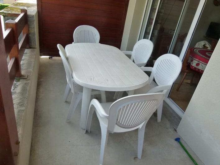 Location de vacances - Appartement à Saint-Lary-Soulan - balcon
