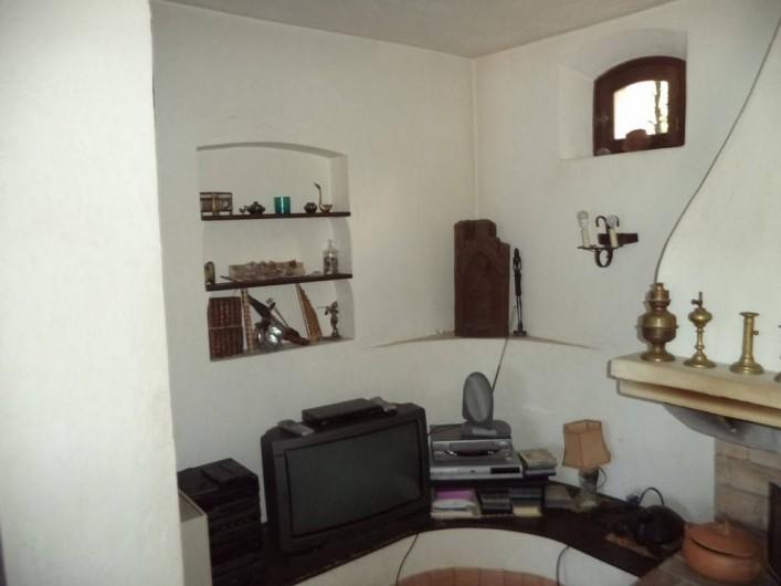 Location de vacances - Villa à Mandelieu-la-Napoule - la tele est desormais à écran plat