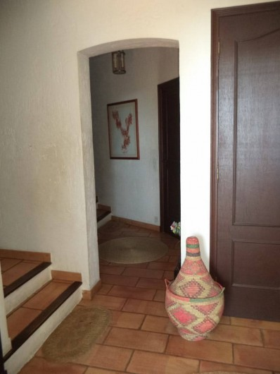 Location de vacances - Villa à Mandelieu-la-Napoule - accès au coin nuit