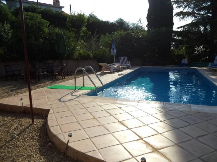 Location de vacances - Villa à Mandelieu-la-Napoule - piscine
