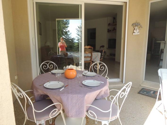Location de vacances - Appartement à Villeneuve-lès-Avignon - La loggia