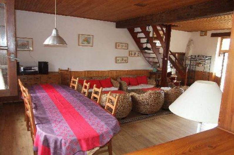 Location de vacances - Maison - Villa à Franchesse - Séjour aile gauche