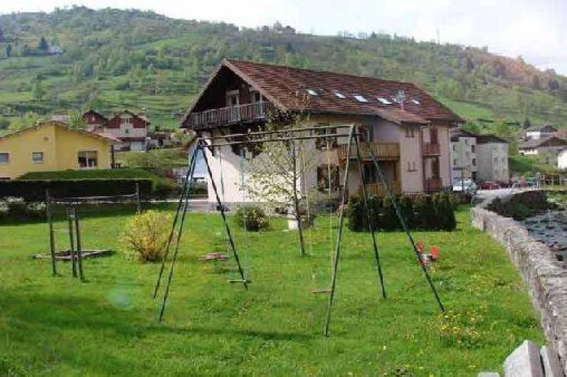 Location de vacances - Gîte à La Bresse - Vue général de la résidence