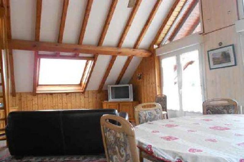 """Location de vacances - Gîte à La Bresse - Séjour cuisine du gite """"les roches"""" 65 m2 -4 pièces plus balcon de 12 m2"""