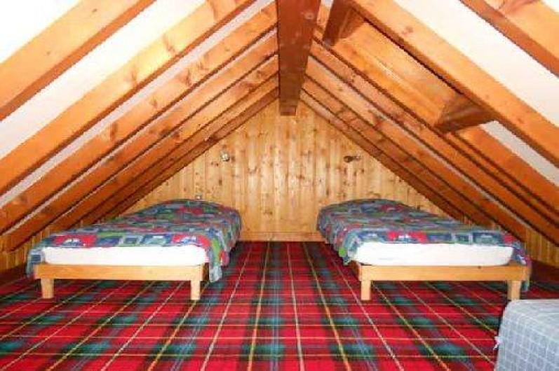 """Location de vacances - Gîte à La Bresse - Chambre du gite """"le hohneck"""" 65 m2 -4 pièces plus balcon"""