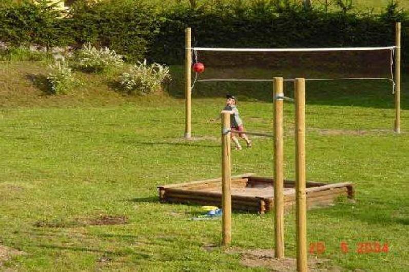 Location de vacances - Gîte à La Bresse - Air de jeux