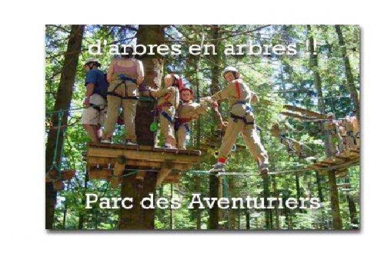 Location de vacances - Gîte à La Bresse - Activité à LA BRESSE parcours aventure