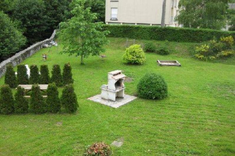 Location de vacances - Gîte à La Bresse - Jardin exterieur de la résidence