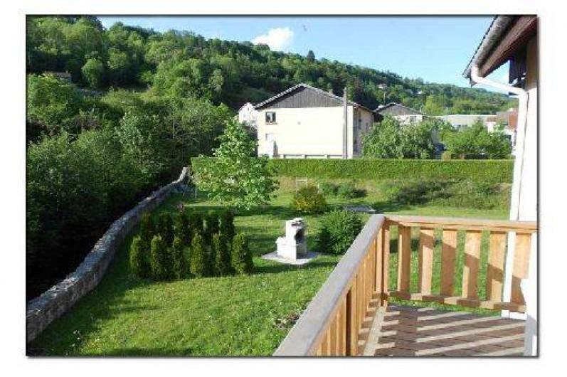 """Location de vacances - Gîte à La Bresse - Balcon du gite """"le liernat"""" 3 ièces. 43 m2"""