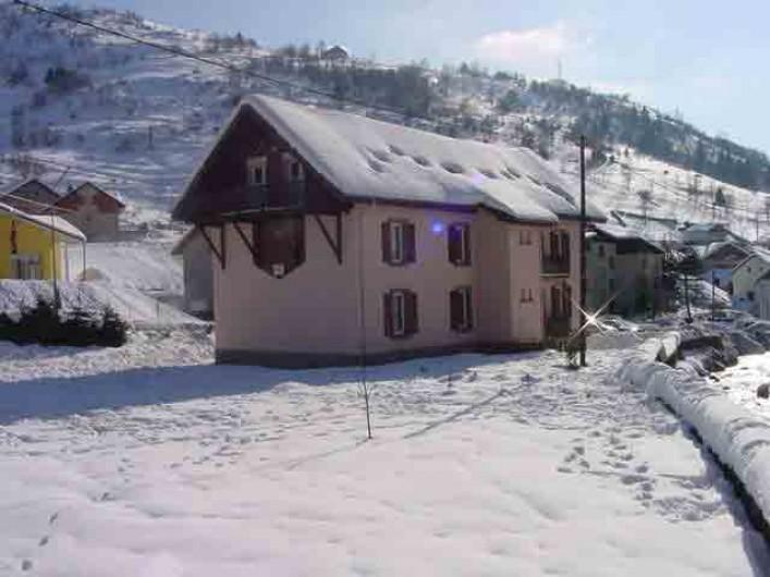 Location de vacances - Gîte à La Bresse - RESIDENCE DU CHAJOUX Vue hiver