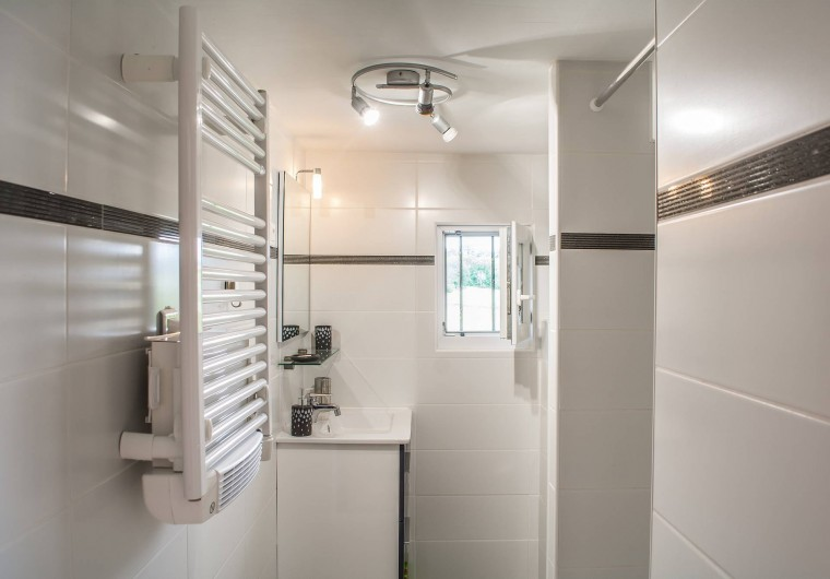Location de vacances - Villa à Catus - Salle d'eau avec WC