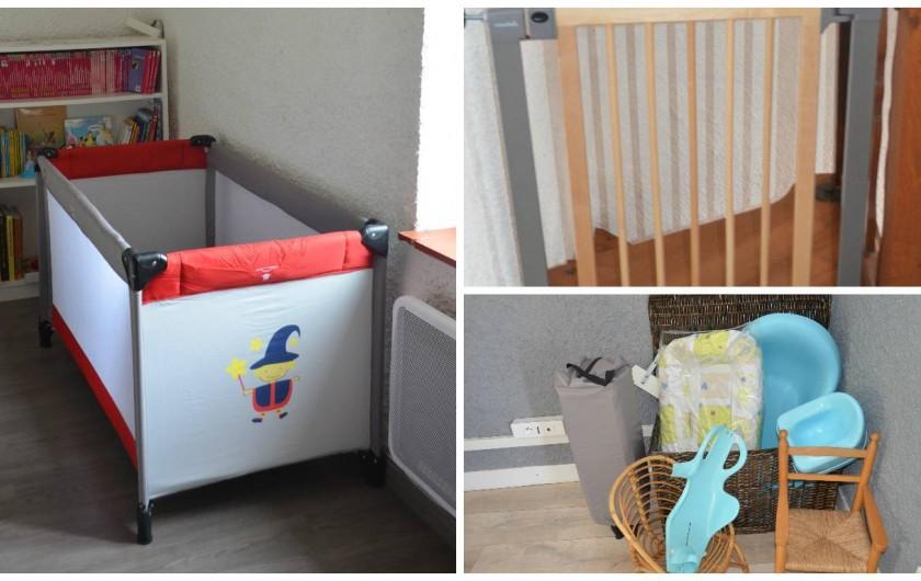 Location de vacances - Villa à Catus - Equipement bébé