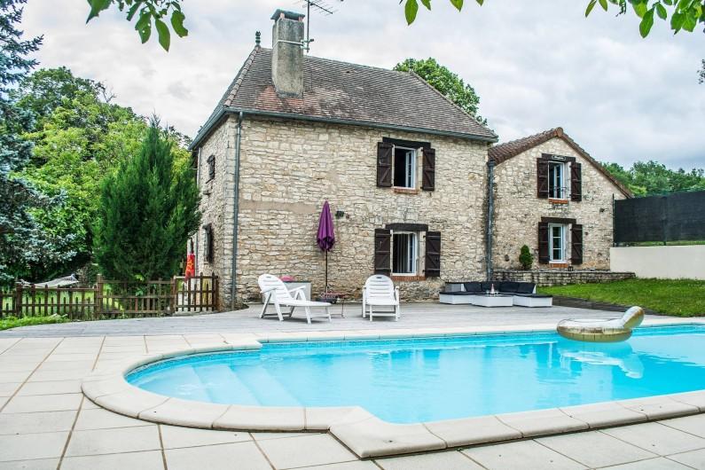 Location de vacances - Villa à Catus - Maison avec terrasse et piscine